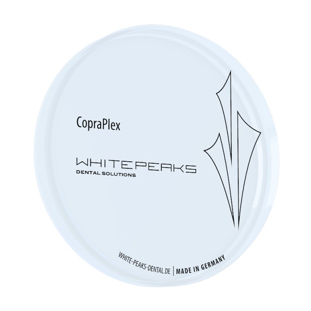CopraPlex transparent 98 Ø x 20 mm black