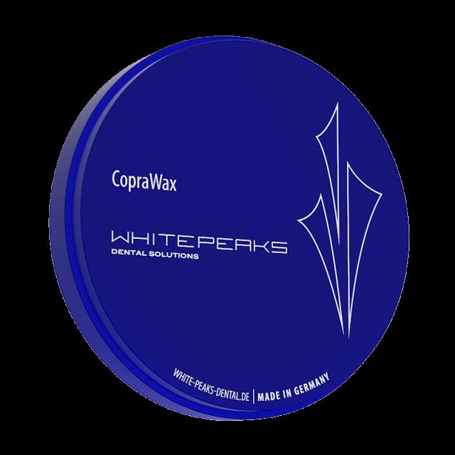 CopraWax Wachs-Blank 98 Ø x 20 mm white